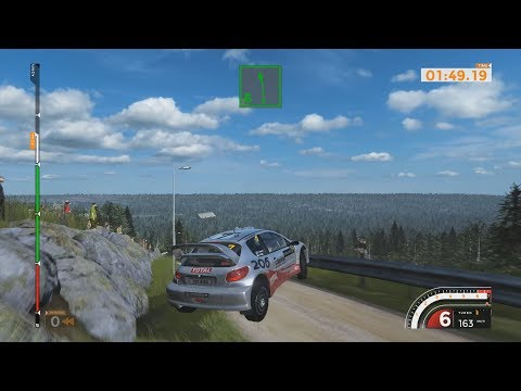 Sebastien Loeb Rally EVO - 2002 Peugeot 206 Rally Car - Car Show Crash Test - 1440p 60fps .