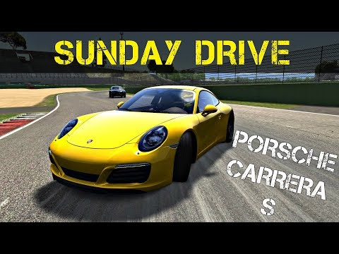 Assetto Corsa Sunday Drive - Driving Porsche Carrera S @ Vallelunga Trackday !