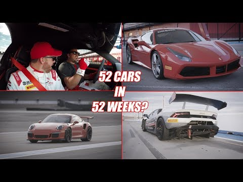 Can I Drive 52 cars in 52 weeks? Motive Quick Drive - Porsche, Ferrari and Lambo GT3