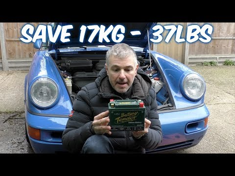 Cheap Lightweight Lithium Battery upgrade  for my porsche 964