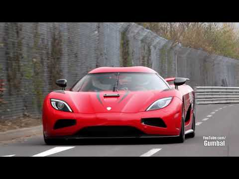 Koenigsegg Agera R   402km h EPIC Fly By on the Nurburgring! supercars