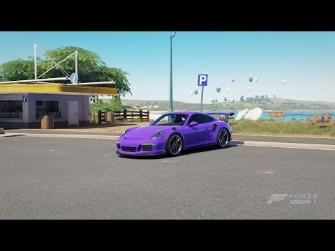 Test Porsche 911 GT3 RS | Forza Horizon 3