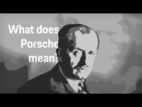What does Porsche mean?  | Porsche answers your most popular questions.