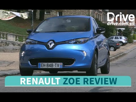 2018 Renault Zoe First Drive Review | Drive.com.au