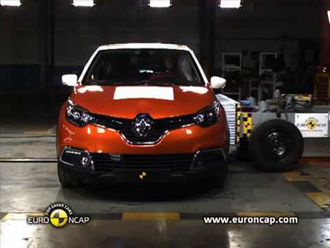 Renault Captur Euro Ncap ?arp??ma Testi Crash Test