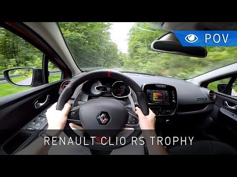 Renault Clio R.S. 220 Trophy (2017) - POV Drive | Project Automotive
