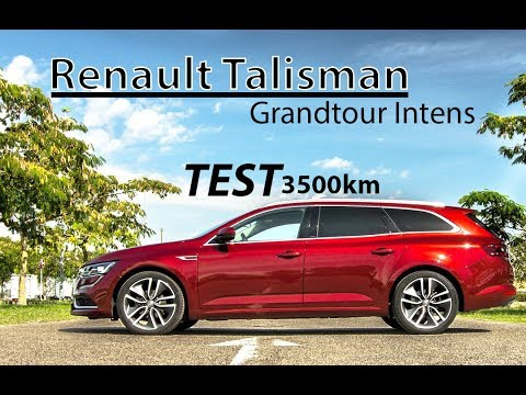 TEST - Renault TALISMAN Grand Tour 1.6 dCi Intens ( 2017 )