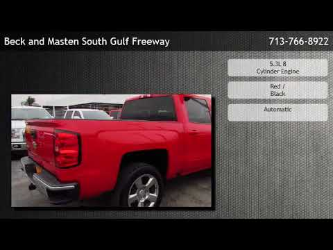 2016 Chevrolet Silverado 1500 Crew Cab Short Box 2-Wheel Drive LT  - Friendswood