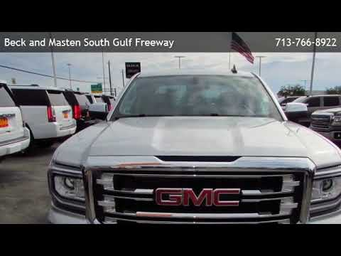 2017 GMC Sierra 1500 Crew Cab Short Box 2-Wheel Drive SLT  - Friendswood