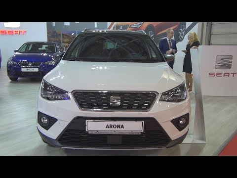 Seat Arona XCELLENCE 1.0 EcoTSI 115 hp Nevada White (2018) Exterior and Interior