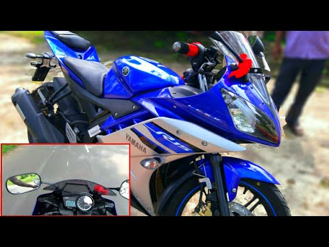 Yamaha Yzf R15 Top Speed @ 122Kmpl | hr | Version 2.0 Top Speed Test | In Hindi