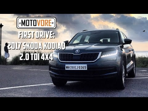First drive: Skoda Kodiaq 2.0 TDI 4x4 [BAD SOUND]