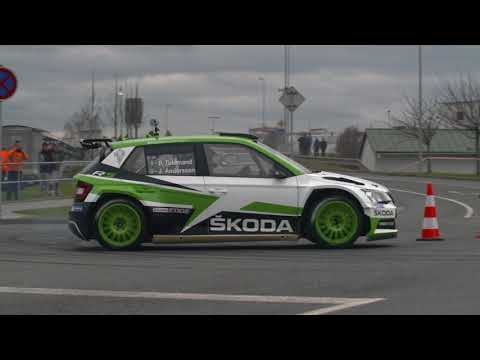 ?KODA MOTORSPORT: Adrenaline speed test in ?KODA Factory