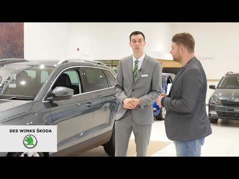 Paddy Shows You the Skoda Karoq's Features!