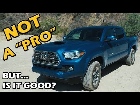 2018 Toyota Tacoma TRD Sport Review | Test Drive Tuesday on Truck Central