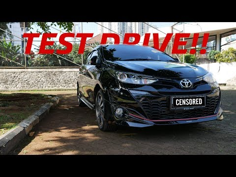 #CarVlog Indonesia | TEST DRIVE TOYOTA NEW YARIS TRD SPORTIVO FACELIFT 2018 PERTAMA DI INDONESIA