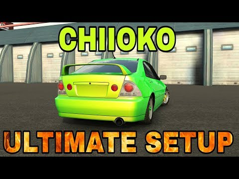 Chiioko Ultimate Setup + Test Drive! (Toyota Altezza) CarX Drift Racing