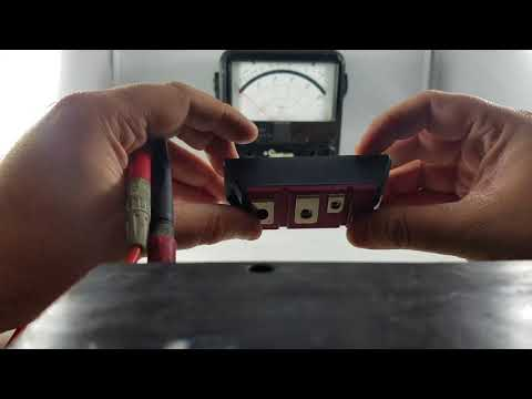 How to Test Toyota Forklift 5 Series Red Transistors
