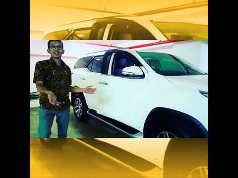 Test Drive Toyota Fortuner 2018