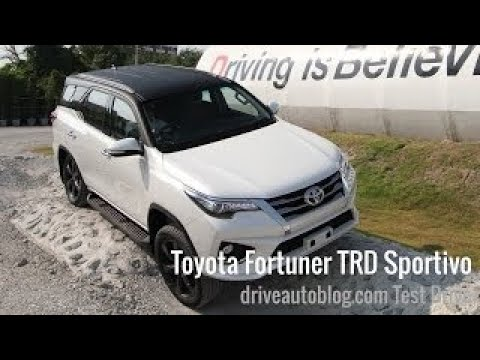 [Test Drive] Toyota Fortuner TRD Sportivo 2017 : ?????????????? ???????????????? ?????????