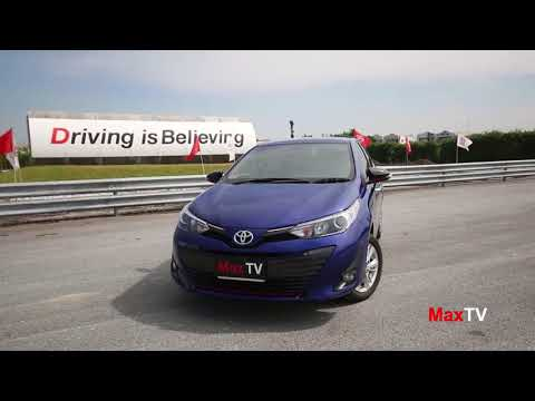Test Drive : Toyota Yaris Ativ 2017 By MaxTV / 02 DEC 2017
