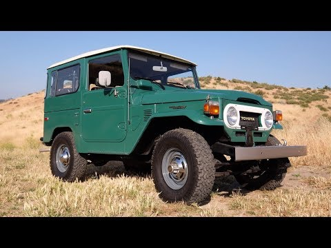 The Finest Original FJ40 Toyota Landcruiser Known To Man?