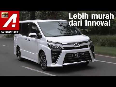 Toyota Voxy Review & Test Drive by AutonetMagz