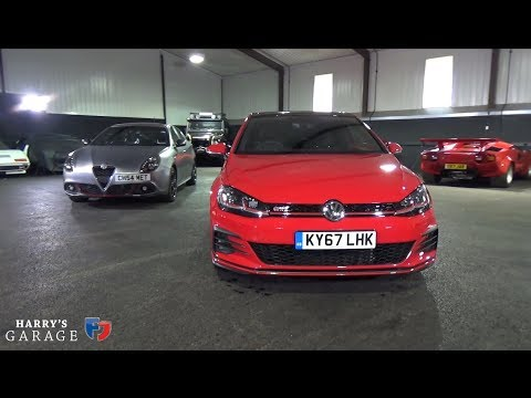 245ps Golf GTI vs 240ps Alfa Giulietta Veloce realworld review