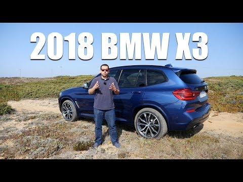 2018 BMW X3 G01 (ENG) - Test Drive and Review