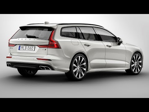 2019 Volvo V60 - interior Exterior and Drive