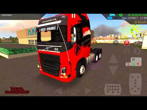 Heavy Truck Simulator | Test Volvo FH16 (my fave truck)