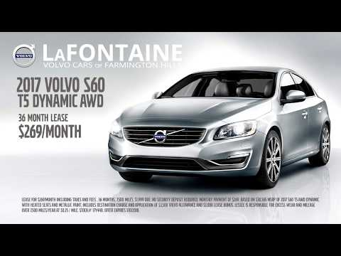 LaFontaine Volvo | Auto Show Specials | 2017 Volvo S60 T5 Dynamic AWD