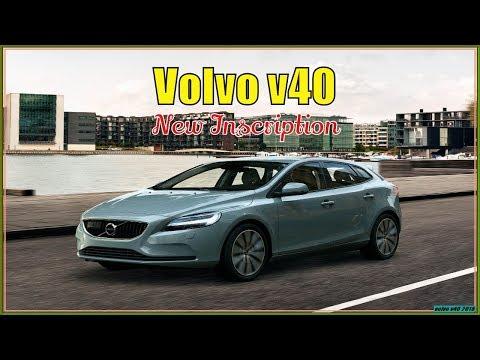 New volvo v40 2018| 2018 Volvo V40 Inscription