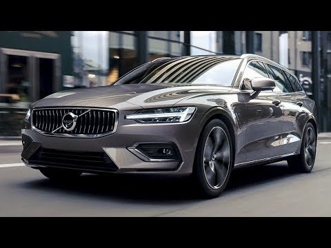 New Volvo V60 (2019) - Interior, Exterior and Driving