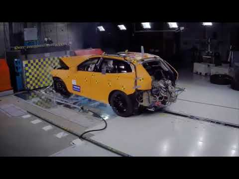 The new Volvo XC60 Roll Over crash test