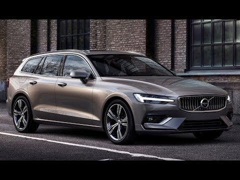 Volvo V60 (2019) All new V60 a sleek family wagon