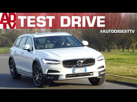 VOLVO V90 CC D4 Geartronic : TEST DRIVE